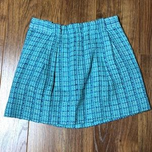 Jcrew Tweed Skirt